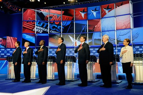 Republican Candidates Debate in Economic Turmoil Epicenter