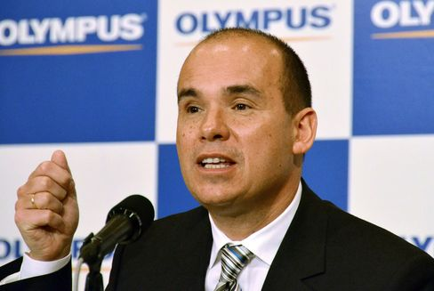 Olympus Corp. Former President Michael C. Woodford