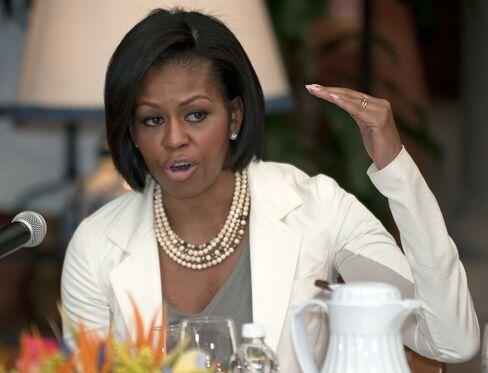 U.S. First Lady Michele Obama