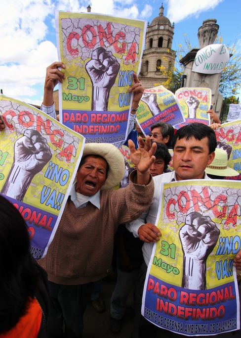 Deadly Newmont Protests Lead Peru to Call State of Emergency