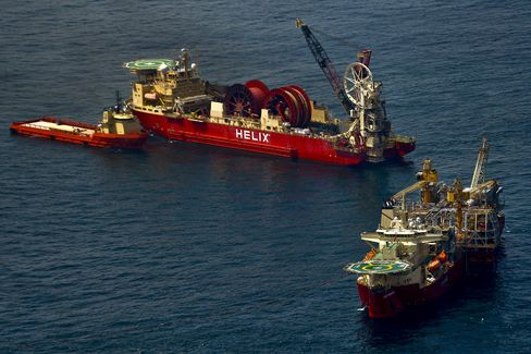 Helix in Play as Sales Create Deepwater Takeover Bait