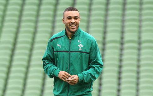 British and Irish Lions' Simon Zebo
