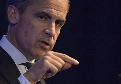 Carney Offers Banks Liquidity-Rule Sweetner for Lending