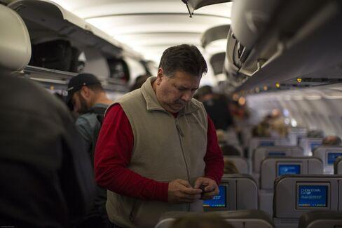 Electronic Device Usage on Flights