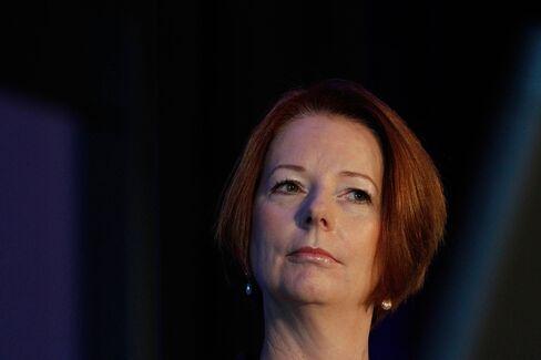 Australia's Prime Minister Gillard