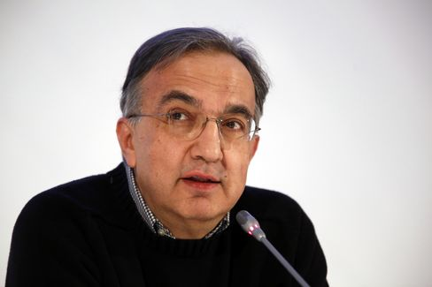 Fiat SpA and Chrysler Group CEO Sergio Marchionne