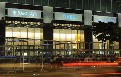 Barclays' Office at One Raffles Quay