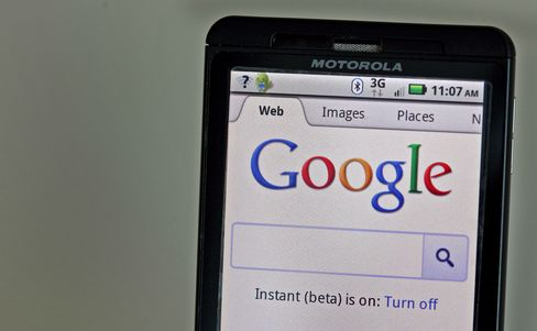 Google, Motorola Review Temporarily Halted by EU