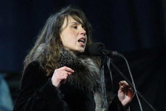 "Tetyana Chornovil wants outof the""bureaucratic swamp."""