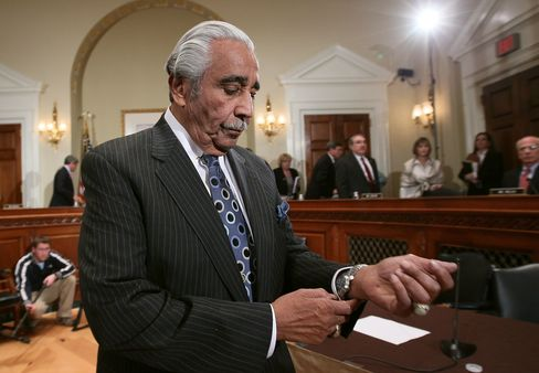 Rangel Is First House Member Facing Sanctions Since 2002