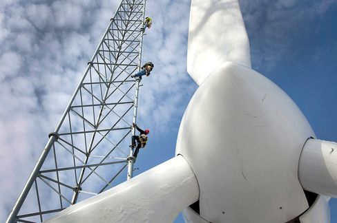 U.S. Wind Power Beats Gas as Developers Rush to Catch Tax Credit