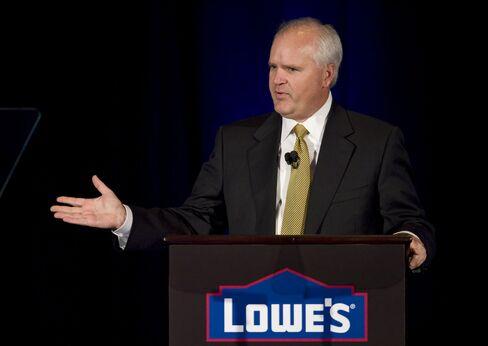 Lowe's Cos. CEO Robert Niblock