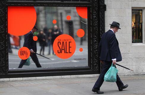 U.K. Store Traffic Falls