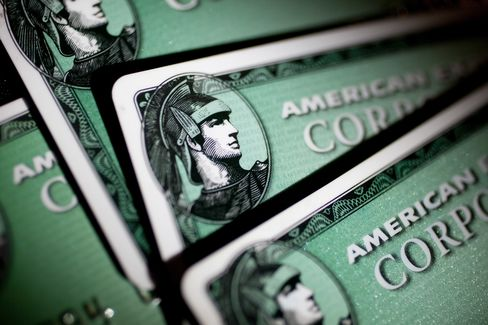 AmEx Profit Increases on Record Card Spending