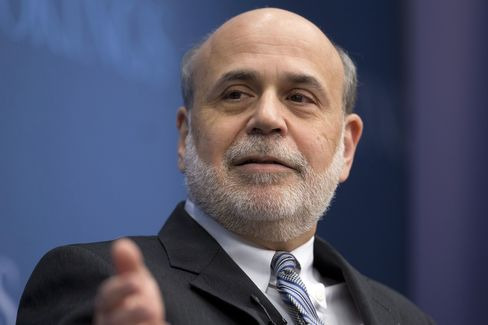 Former Fed Chairman Ben S. Bernanke
