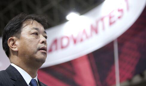 Advantest Corp. President Haruo Matsuno.