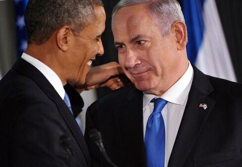 US President Barack Obama & Israeli PM Benjamin Netanyahu