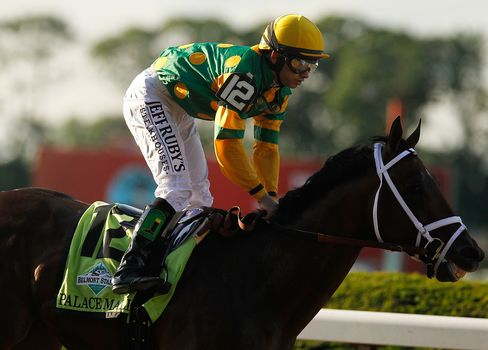 Palace Malice Outruns Oxbow, Favorite Orb in Belmont Stakes