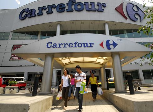 Casino Said to Be Close to Buying Carrefour's 40 Thai Stores