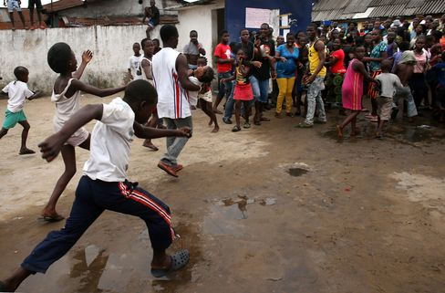 Clinic Overrun in Liberia