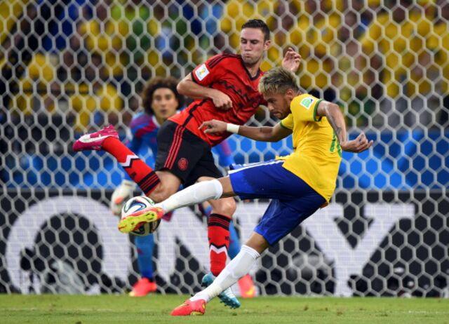 Neymar, making Brazil look like a million bucks.