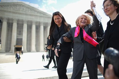 DOMA Opponent Edith Windsor