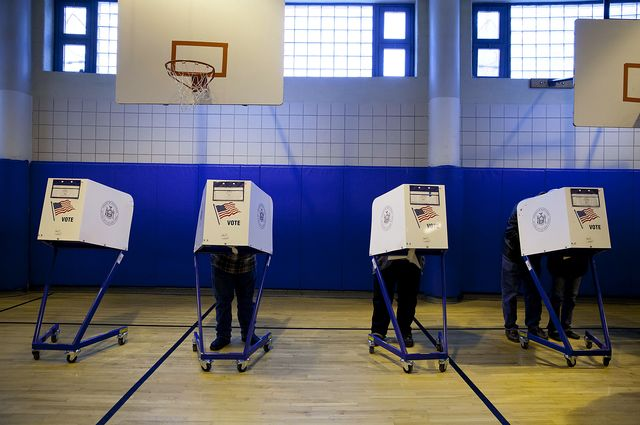 Democrats need a new voting rights strategy. Photographer: Jin Lee/Bloomberg