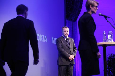 Outgoing Nokia CEO Stephen Elop