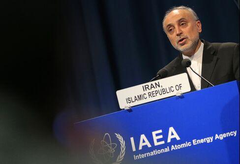 Iranian Atomic Energy Official Ali Akbar Salehi
