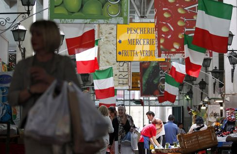 Italian Bonds Slump After Missing Sales Target