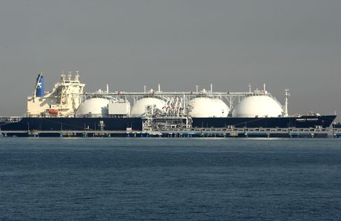 LNG Surges as Japan Vies With China