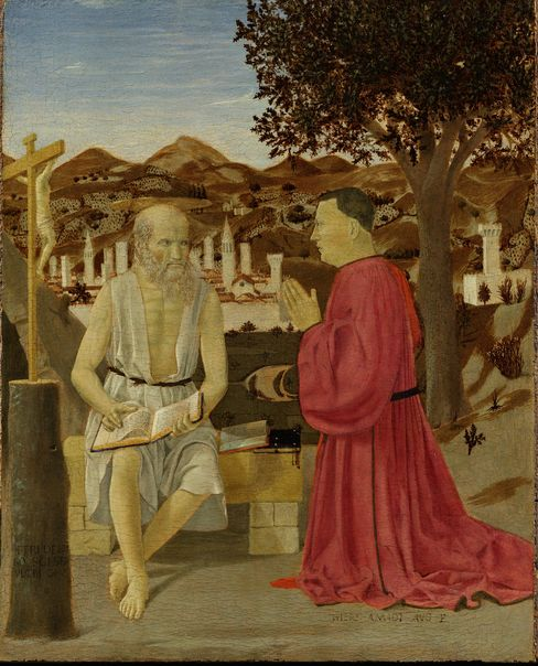 'Saint Jerome and a Supplicant'