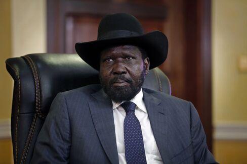 South Sudan's President Salva Kiir
