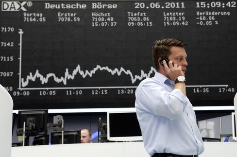European Stocks Slide for Eighth Day in Longest Rout
