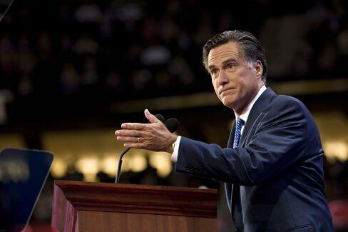 Massachusetts Former Governor Mitt Romney