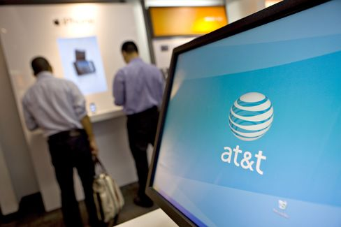 AT&T Travails on T-Mobile May Show Tougher U.S. Stance