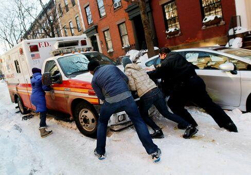 NYC Emergency Response 'Overwhelmed' by Blizzard