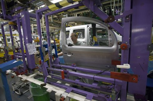 Euro-Region Industrial Output Unexpectedly Increased in August