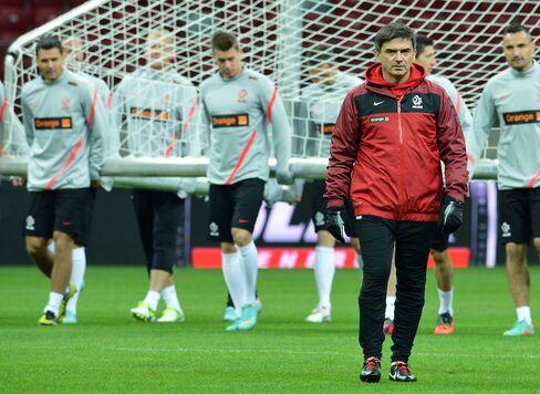 Poland's Former Soccer Coach Waldemar Fornalik