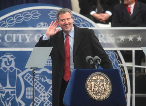 De Blasio Proposes NYC Tax Surcharge on Wealthy for Schools