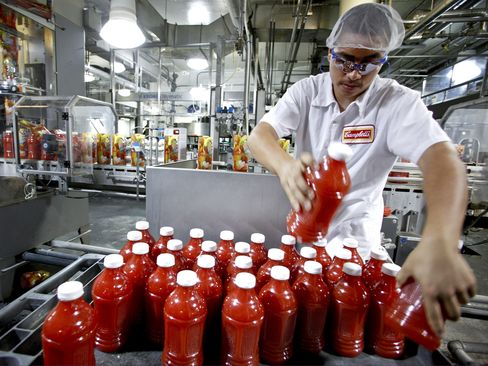 Campbell Agrees to Buy Bolthouse for $1.55 Billion to Add Juices