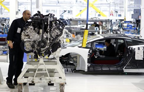 Euro-Area Services, Factory Gauge Rises More Than Estimated