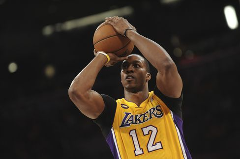 Los Angeles Lakers Player Dwight Howard