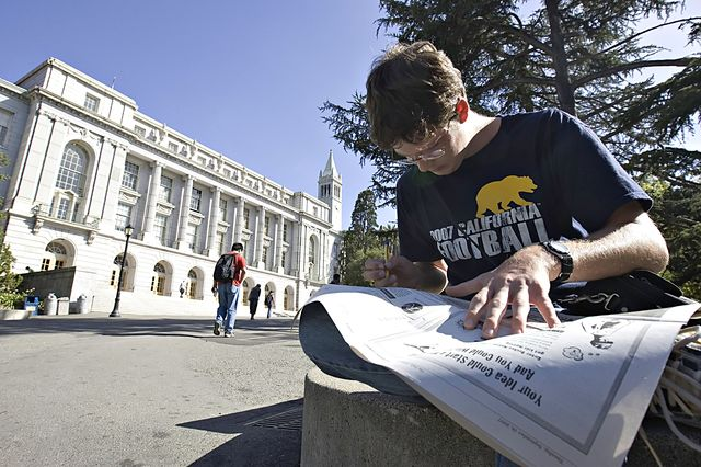 The racial makeup of California's colleges is changing. Photographer:  Chip Chipman/Bloomberg