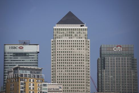Citi Group Offices Stand in London