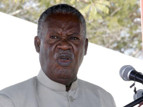 Zambia President Michael Sata