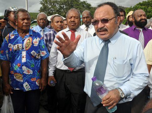Australia Calls for Order in Papua New Guinea
