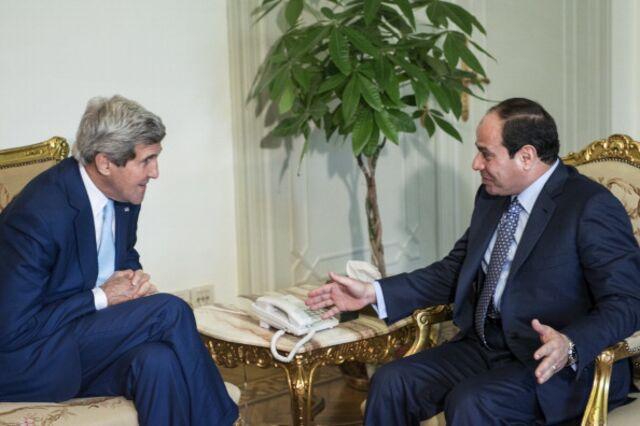 What is John Kerry really tellingAbdel-Fattah El-Sisi?