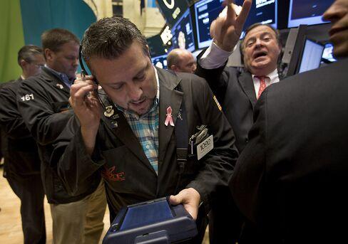 U.S. Stocks Decline Amid Concern Over European Debt Crisis