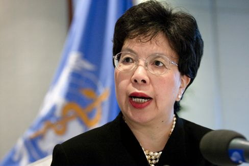 WHO Director-General Margaret Chan